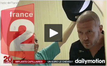 France 2 video greffe de cheveux